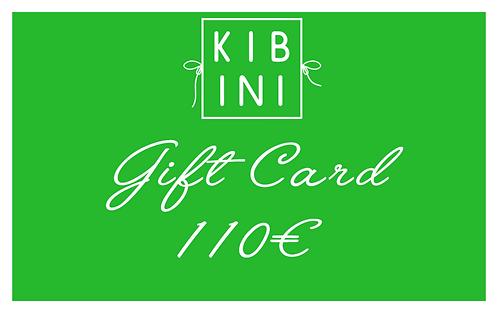 ♥ GIFT CARD 110 € ♥