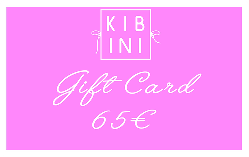 ♥ GIFT CARD 65 € ♥