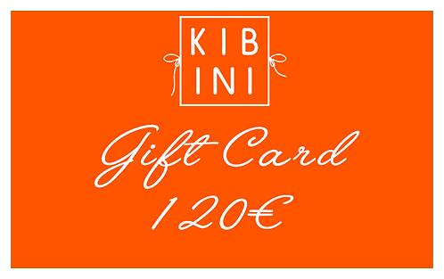 ♥ GIFT CARD 120 € ♥