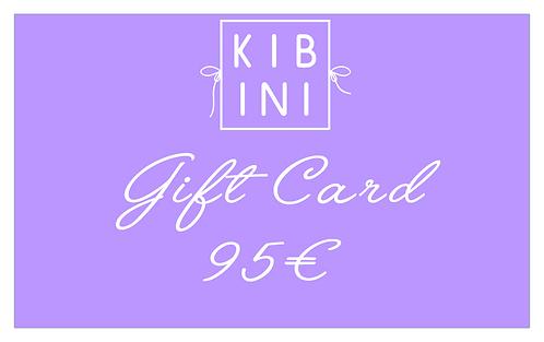 ♥ GIFT CARD 95 € ♥