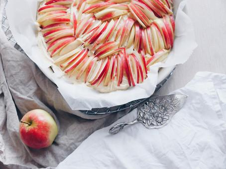 Najprostsze ciasto z jabłkami