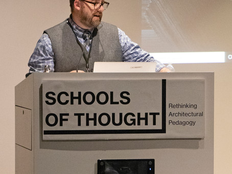 Justin Ferguson Is Session Chair and Panelist at Schools of Thought Conference