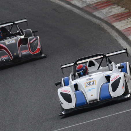 Race winner Will Hunt composed and content ahead of Radical SR1 Cup finale