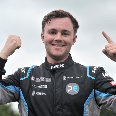 Sussex racer Will Hunt achieves maiden Radical SR1 Cup victory at Oulton Park