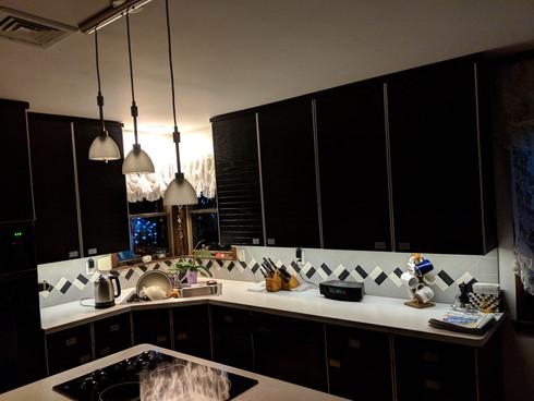 Undercabinet lights help
