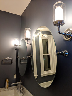 Bathroom sconces
