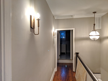 Sconces and pendant