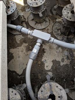 Watertight exterior conduit