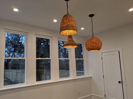 Sunroom lighting