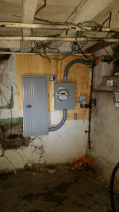 Fresh, new electrical service