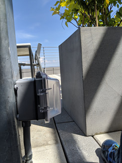 Roofdeck outlet install