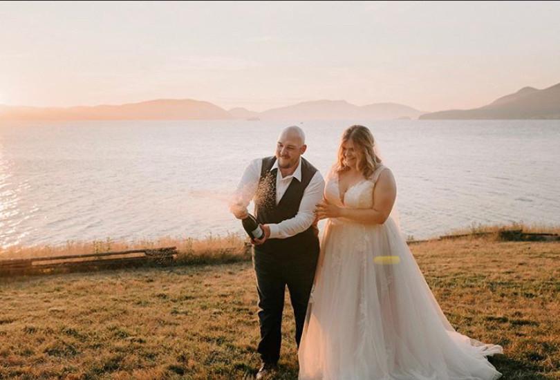 Real Bride - Allison