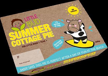 Little Bud kids meal Summer Cottage Pie
