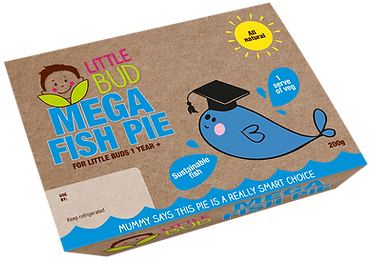 Little Bud kids meal oMEGA Fish Pie