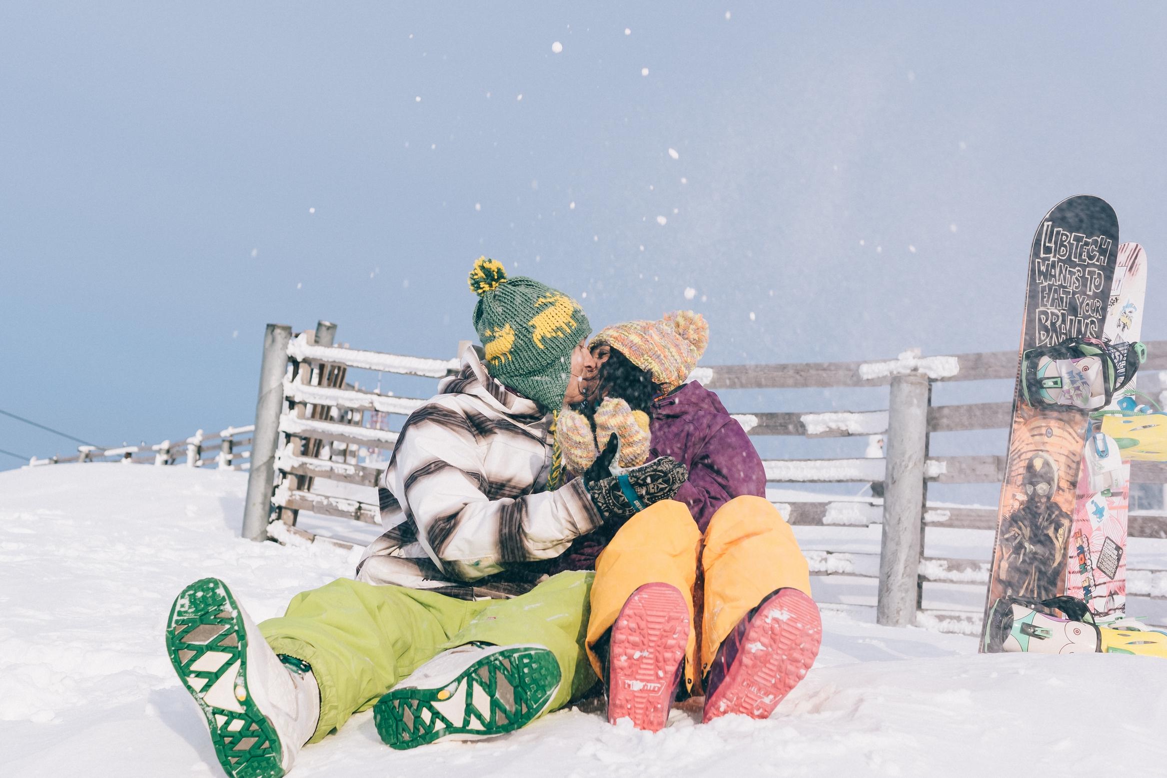 Фотосъёмка для влюблённых в Шерегеше