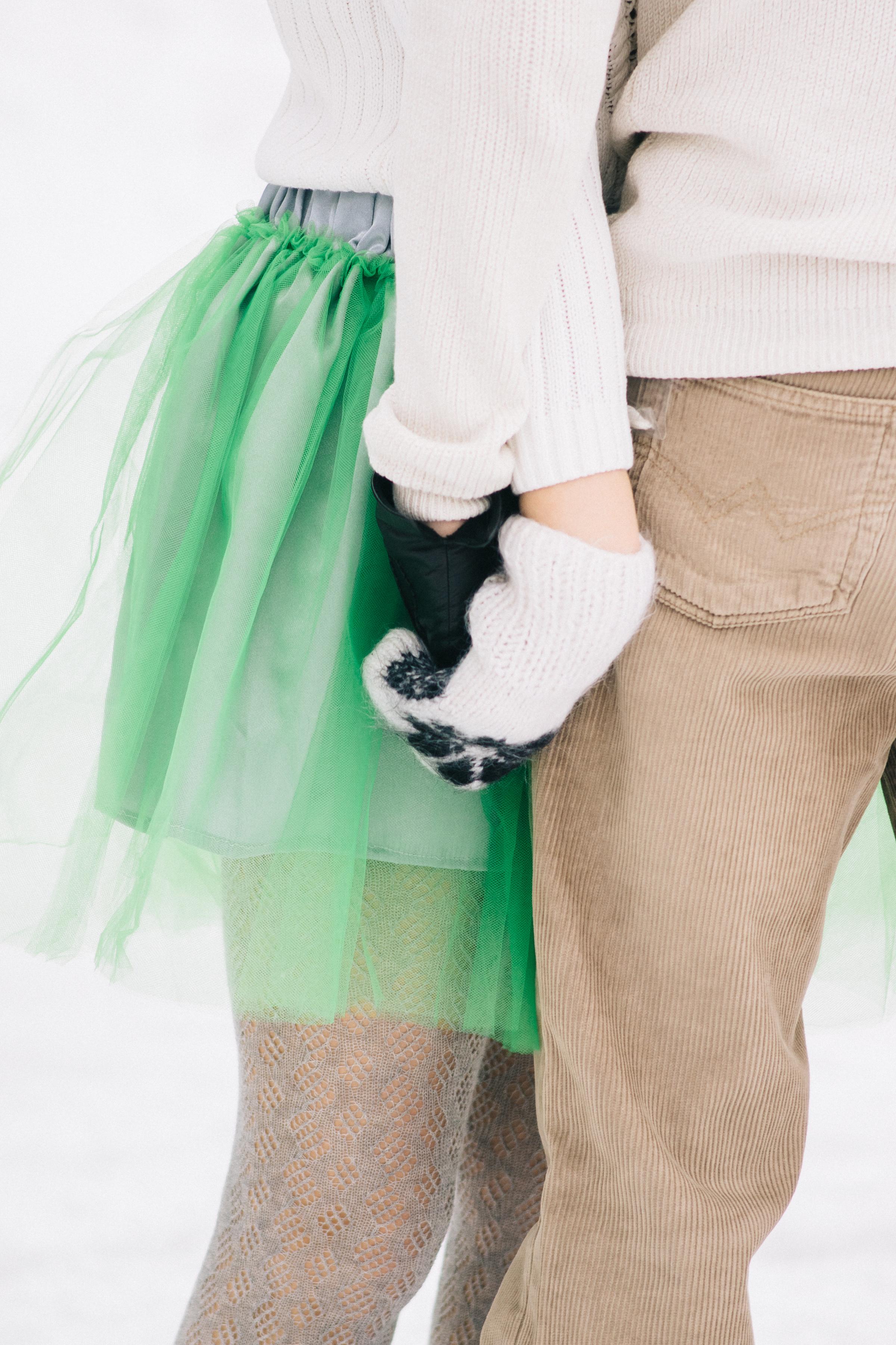 Love Story фотосессия на катке