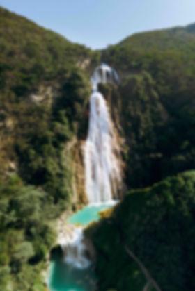 Водопады Cascadas El Chiflon в Мексике