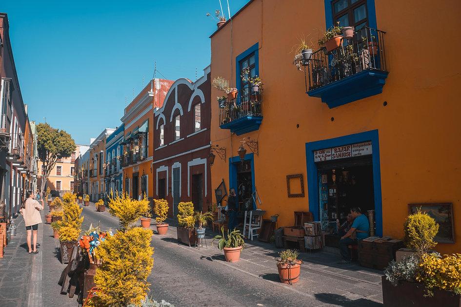 Прогулки по улицам Пуэбла