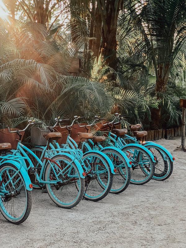 Аренда велосипедов в Тулуме