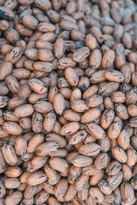 Орехи на рынке Мексики