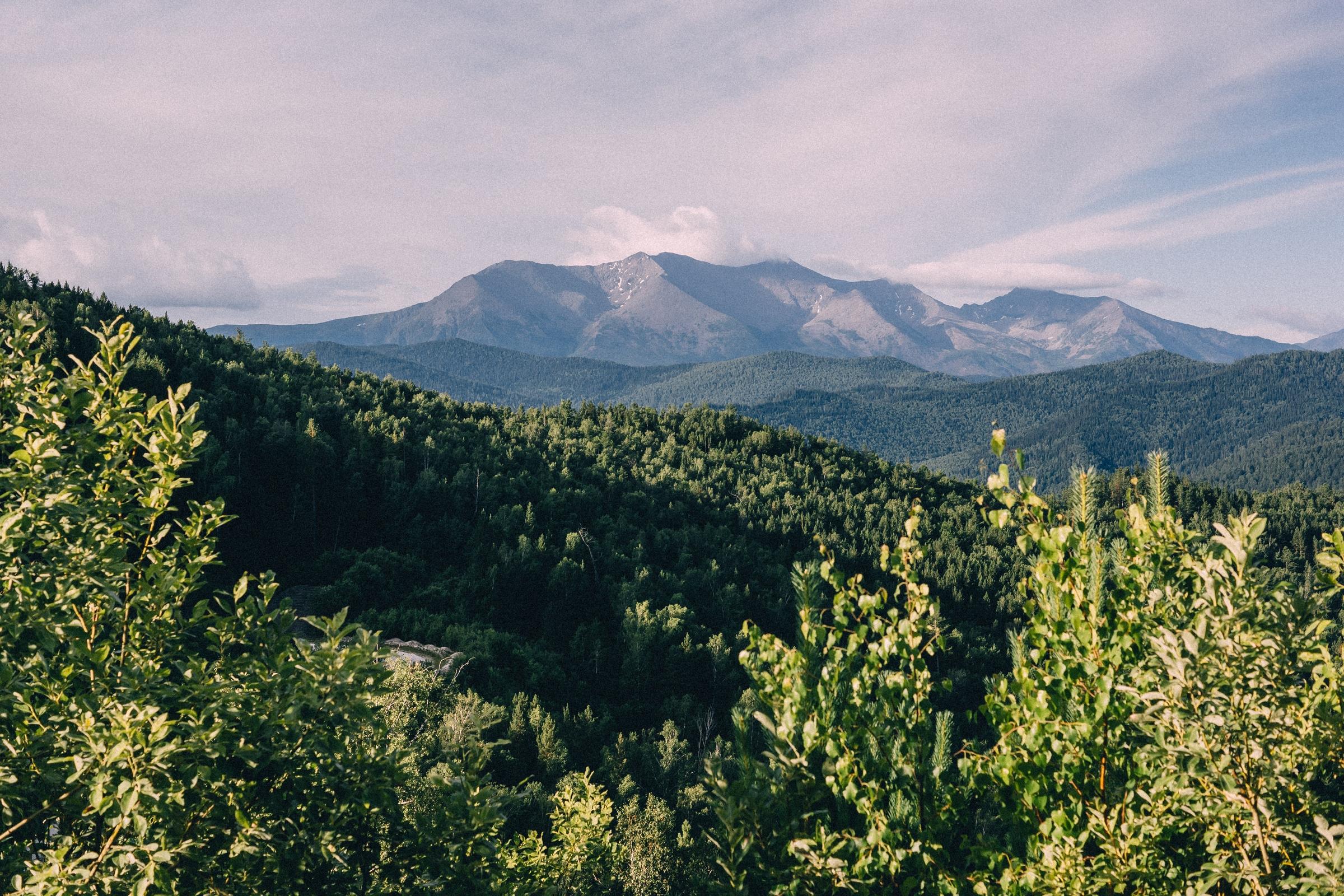 Пейзажи Хакасии