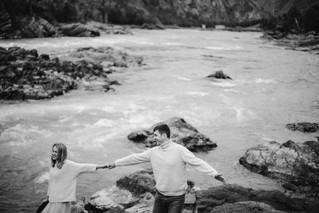 Love story фотосессия на Чемале