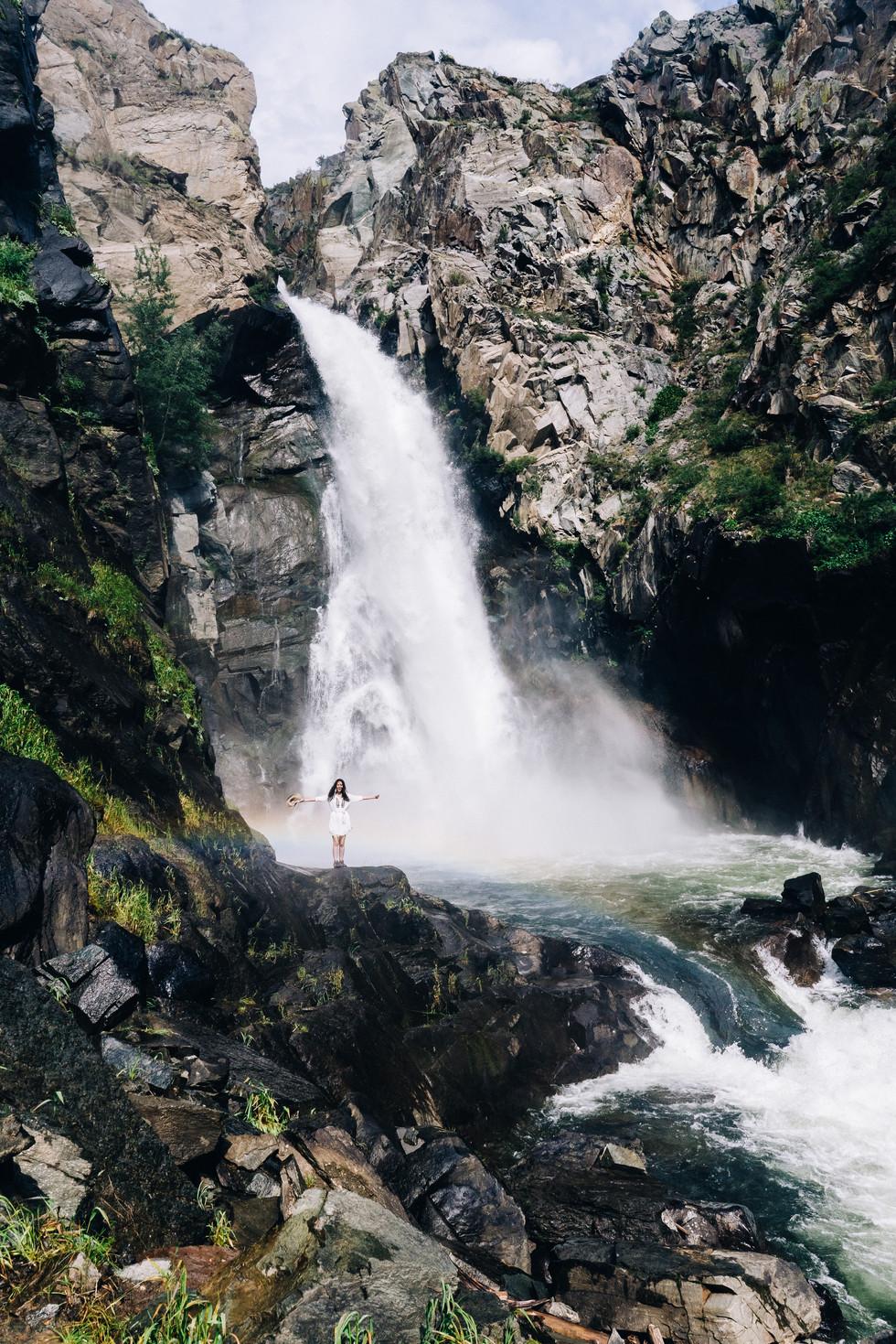 Водопад Куркуре Алтай