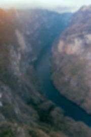 Каньон Сумидера на закате