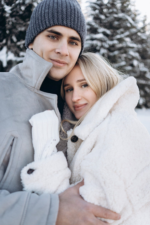 Зимняя фотосессия в Шерегеше