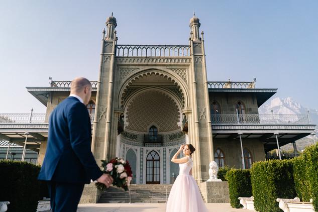 Свадьба в Крыму