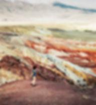 Марсовые пейзажи Горный Алтай