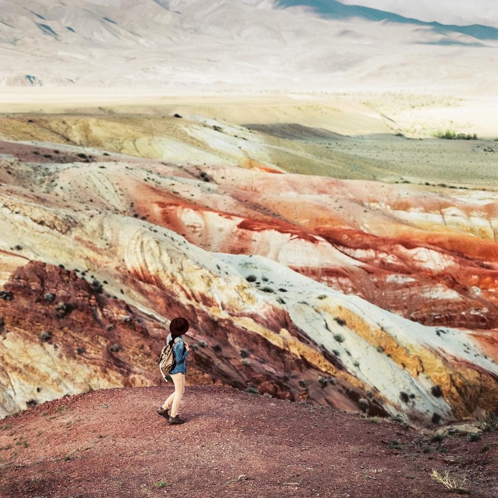 Марсовые пейзажи на Алтае