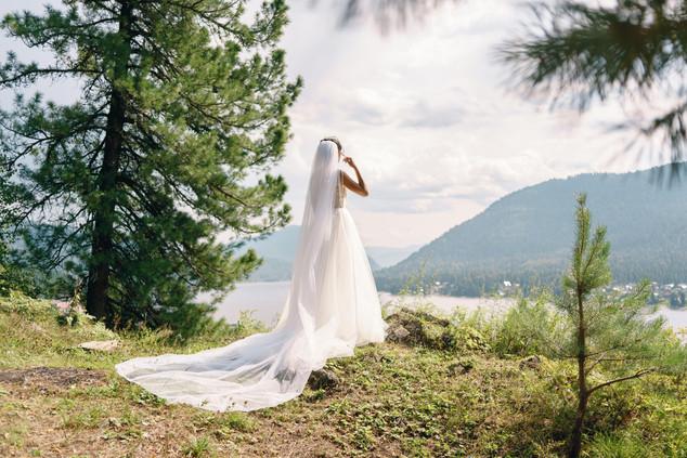 Свадьба на Алтае на Телецком озере