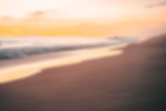 Закат на пляже в Мексике