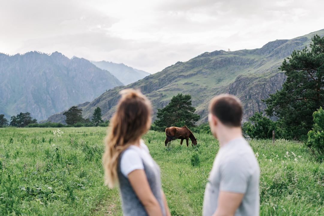 Семейная фотосессия в Горном Алтае