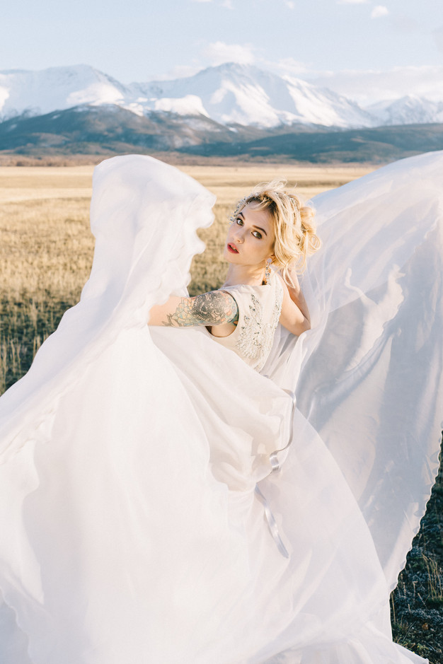 Свадьба в горах Алтая