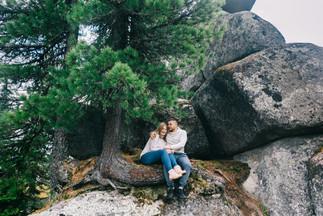 Фотосессия на пленку в горах