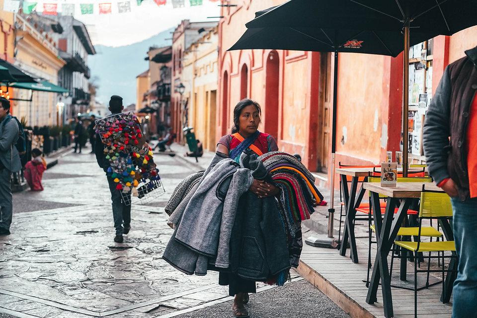 Пешеходная улочка в Сан-Кристобаль