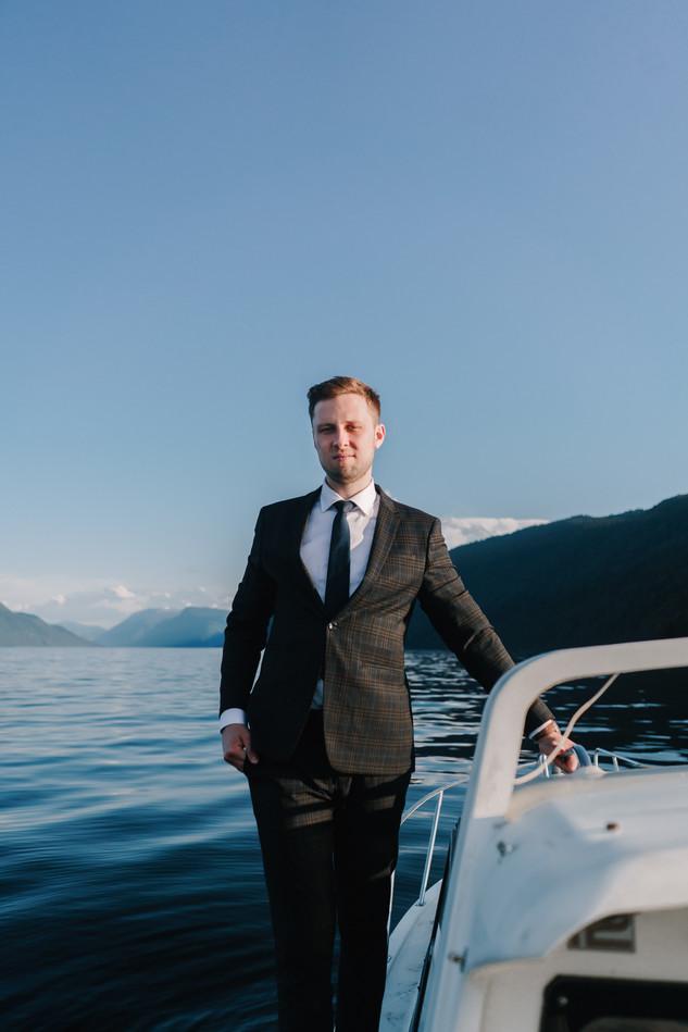 Свадьба на Алтае на берегу Телецкого Озера