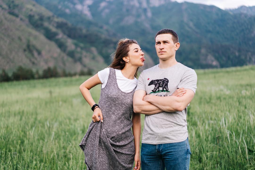 Love Story фотосессия в Горном Алтае