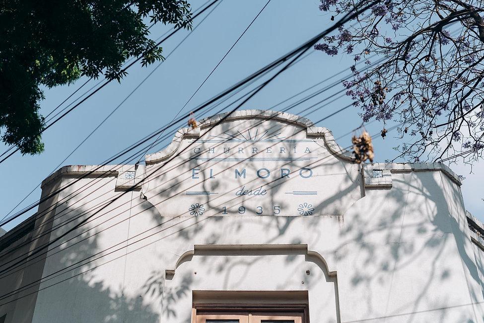 Старейшая чурерия Мехико Эль Моро