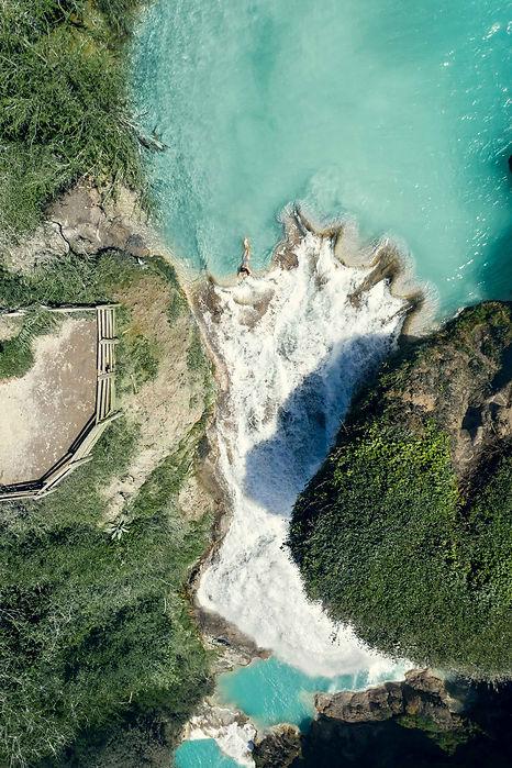 Cascadas El Chiflon водопады