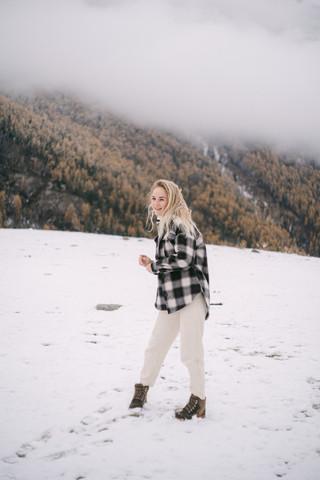 Зимний заснеженный Алтай