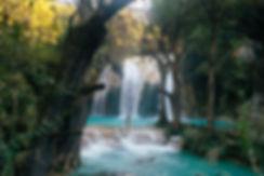 Купание в водопадах Cascadas El Chiflon