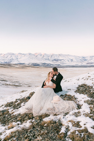 Свадьба в Курайской степи на Алтае