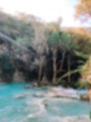 Каскады Cascadas El Chiflon