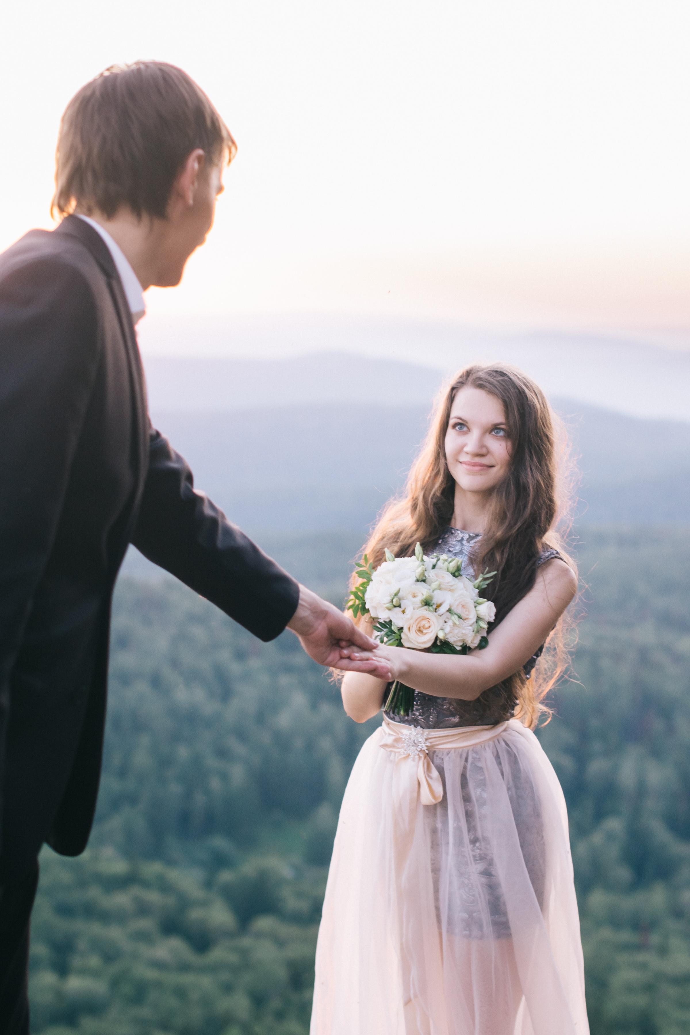 Свадебная съёмка Красноярские столбы