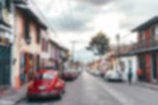 Узкие улочки Сан-Кристобаль