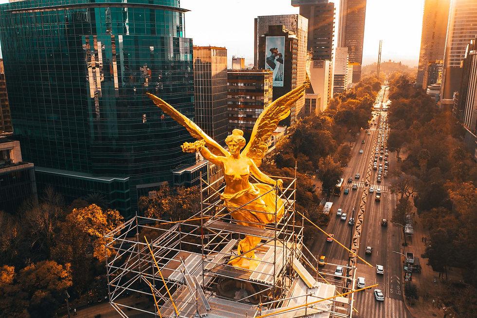 Ангел независимости Мехико