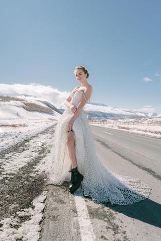 Зимняя свадьба в Горном Алтай